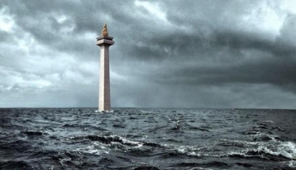 pulau jawa tenggelam